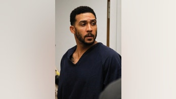 Former NFL football player Kellen Winslow Jr. leaves his arraignment Friday, June 15, 2018, in Vista, Calif. The former tight end was arrested Thursday on charges of rape and other sex crimes, the day he was to appear in court on an unrelated burglary charge. (Hayne Palmour/San Diego Union-Tribune via AP, Pool)