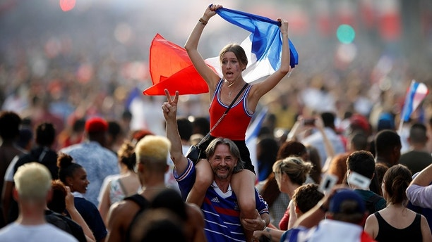 Millions celebrate France's World Cup win