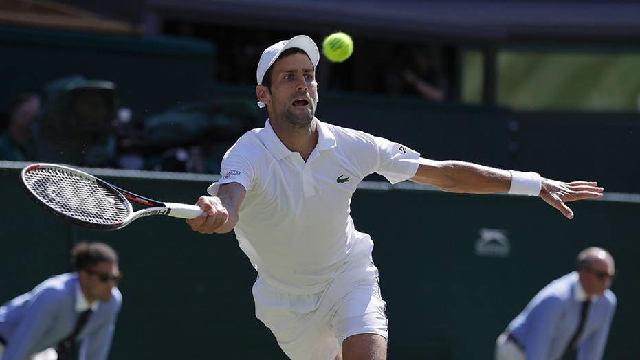 Serbia's Novak Djokovic won his fourth Wimbledon title on Sunday
