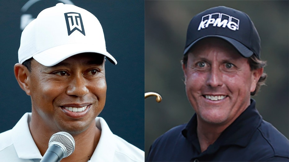 Tiger Woods and Phil Mickelson agree $10 million showdown