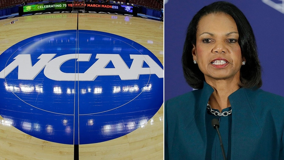 Former U.S. Secretary of State Condoleezza Rice was appointed to lead a commission on cleaning up college basketball following a federal investigation into alleged bribes and kickbacks designed to influence recruits on choosing a school, agent or apparel company.