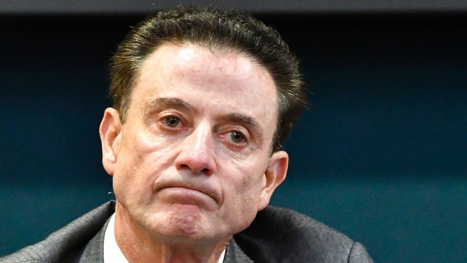 Rick Pitino clarified he didn't name his horse Party Dancer.