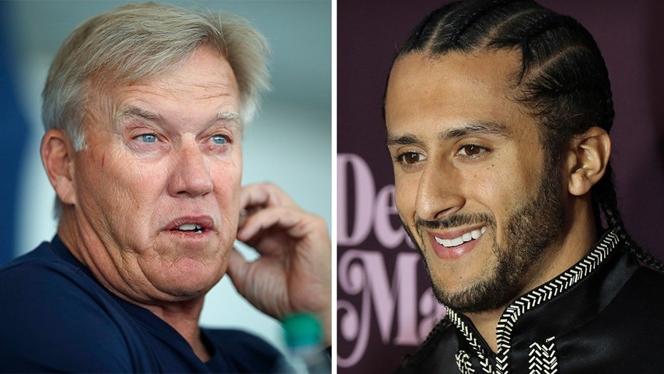 "John Elway said the Denver Broncos once gave Colin Kaepernick a ""chance"" to be on the team, but he turned them down."