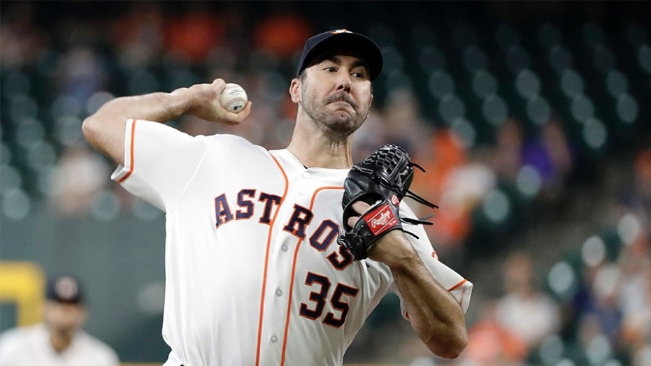 Justin Verlander called 'Dodger killer' in bill