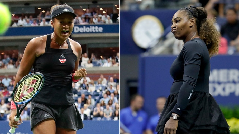 Ve Tl Text Big Top Image Serena Williams Bested Naomi Osaka  Open Womens