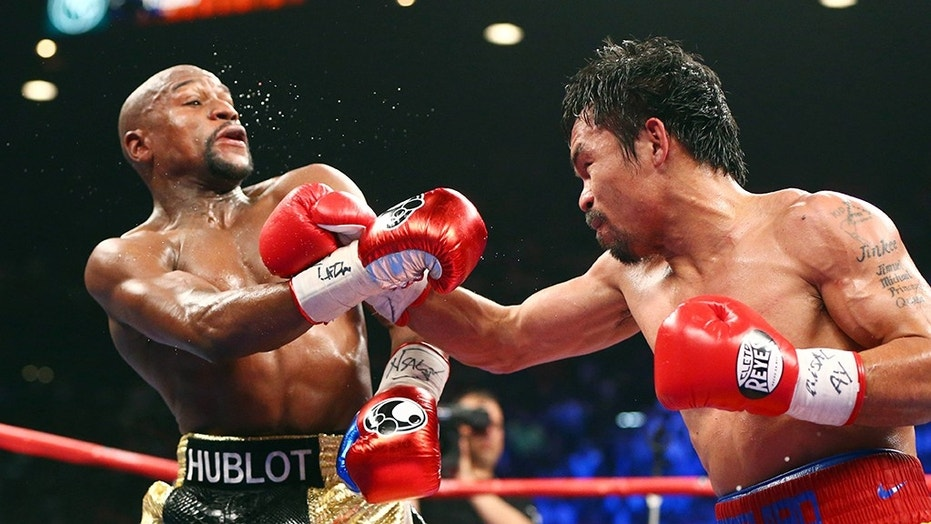 Floyd Mayweather pronounced a rematch between him and Manny Pacquiao was function this year.