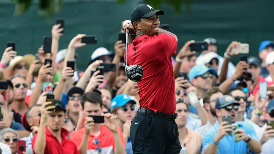 WATCH Tiger Woods last putt as he wins 80th PGA title