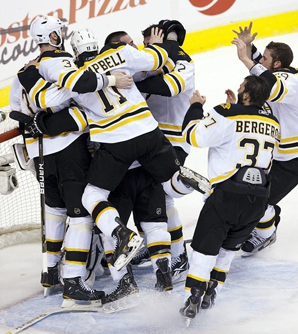 Boston Bruins Win Stanley Cup