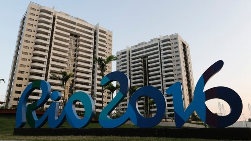 The Olympic Village stands ready in Rio de Janeiro, Brazil, Saturday, July 23, 2016. The brand new complex of residential towers are where nearly 11,000 athletes and some 6,000 coaches and other handlers will sleep, eat and train during the upcoming games, that will kickoff on Aug. 5(AP Photo/Leo Correa)
