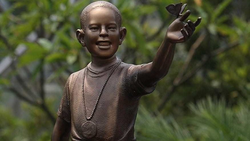 Dec. 10: A bronze statue of young President Barack Obama is unveiled in Jakarta, Indonesia. (AP)
