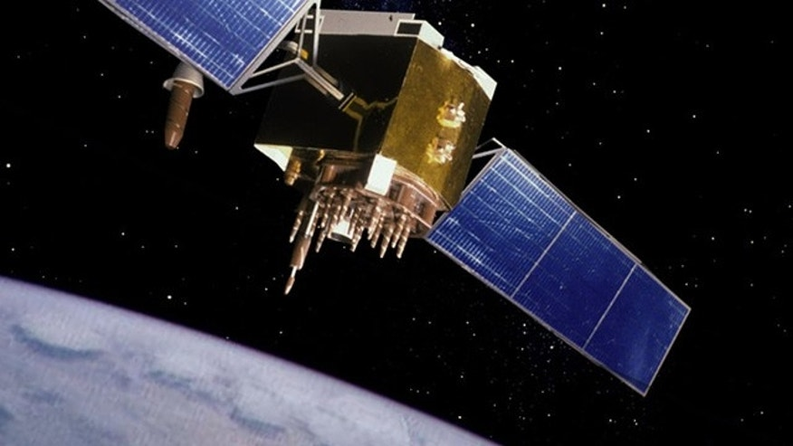 "30 satellites like this one make up the GPS system, which the Air Force called ""the most capable in the history of the program."""