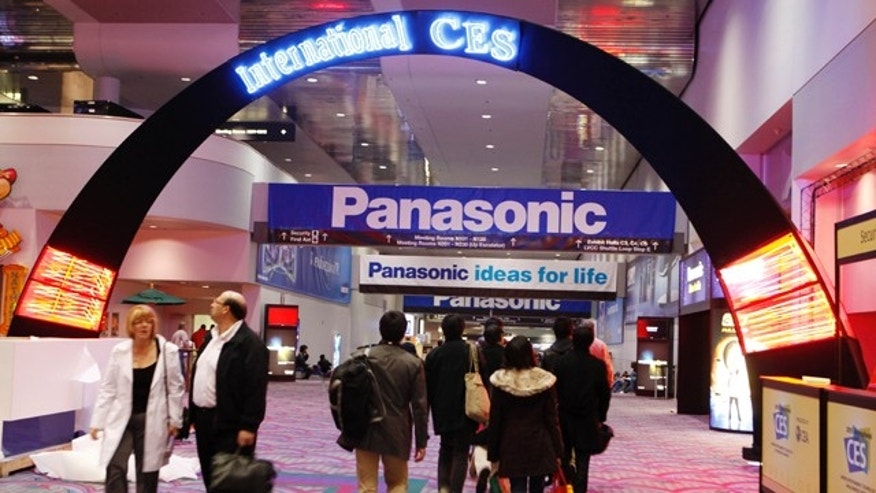 Jan. 4, 2010: People walk inside the International Consumer Electronics Show (CES) in Las Vegas.