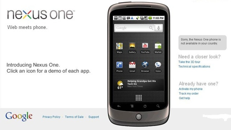 Google dubs its Nexus One a 'Super Phone,' because the company believes the phone pushes the limits of what today's cell phones are capable of.
