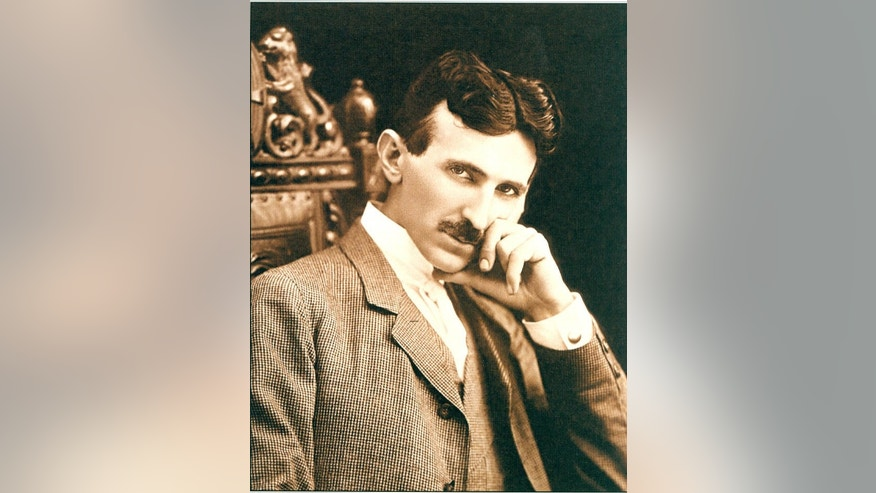 Nikola Tesla, an inventor and electrical and mechanical pioneer, in a photo from 1896.