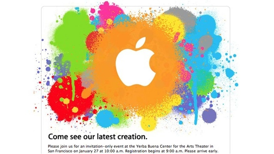 Apple has sent invitations for a Jan. 27 event in San Francisco, where the technology company will unveil its long-awaited tablet device.