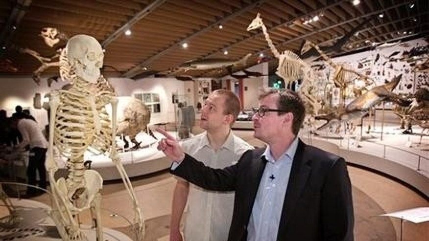 Professor Eske Willerslev right, and Morten Rasmussen have discovered a technique that makes it possible to recreate all the genes from an ancient man from an extinct culture.