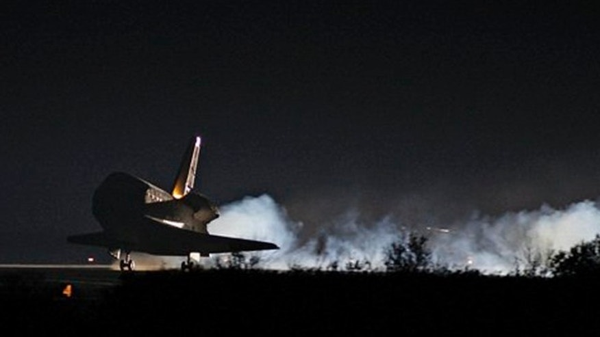 Feb. 21: Space shuttle Endeavour returns to the Kennedy Space Center in Cape Canaveral, Fla.
