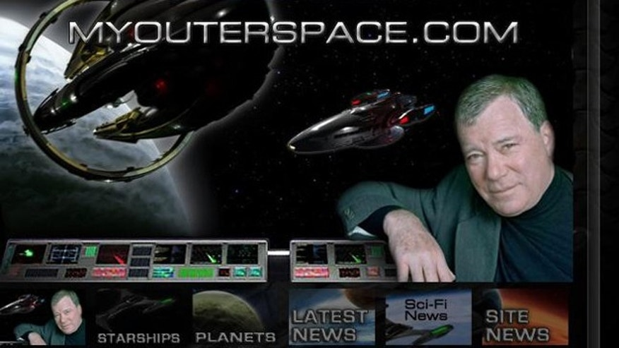A screenshot of William Shatner's newest venture: a social-network that seems equal parts job board and video production company.