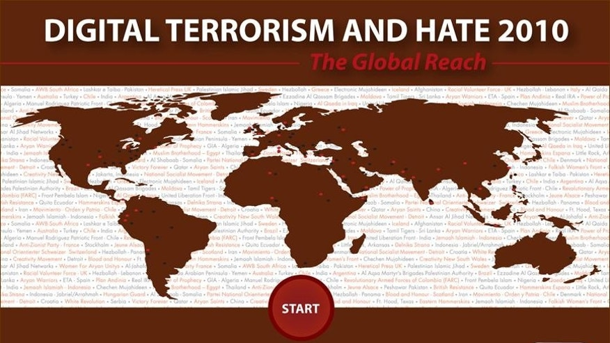 The 2010 Digital Terror Report from the Simon Wiesenthal Center for Tolerance found a 20% increase in the prevalence of hate-filled Web sites--notably in social media like Facebook and Twitter.