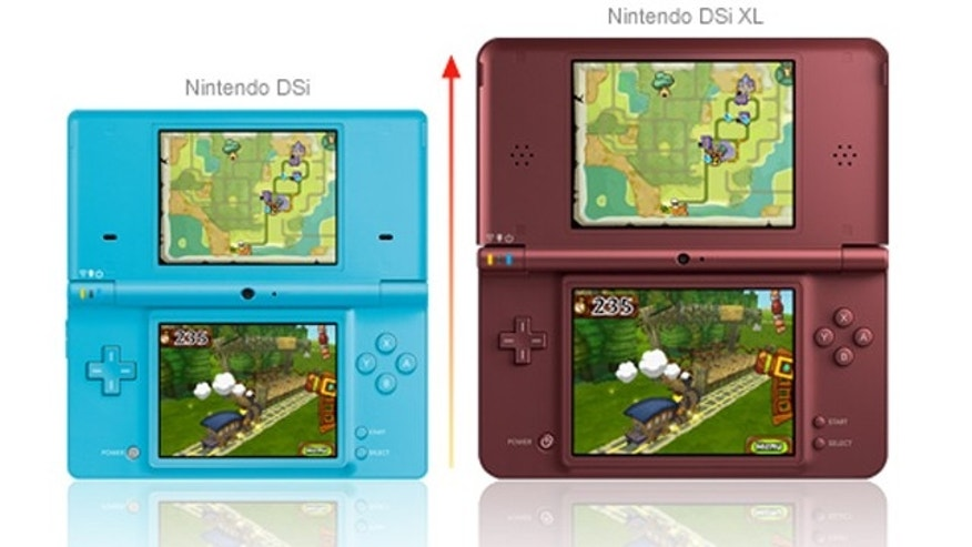 Two models in Nintendo's dual-screen lineup. The Japanese gaming giant has also announced plans to release a 3D version of the popular handheld game system.