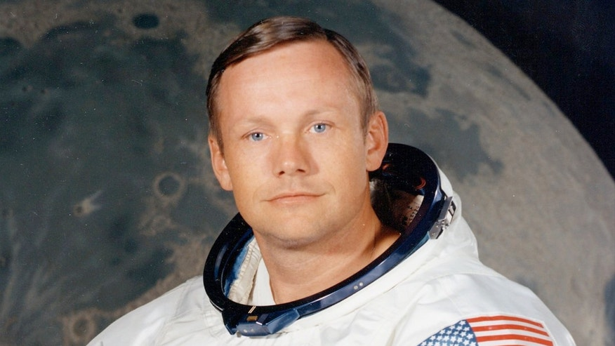 Neil Armstrong, as NASA astronaut