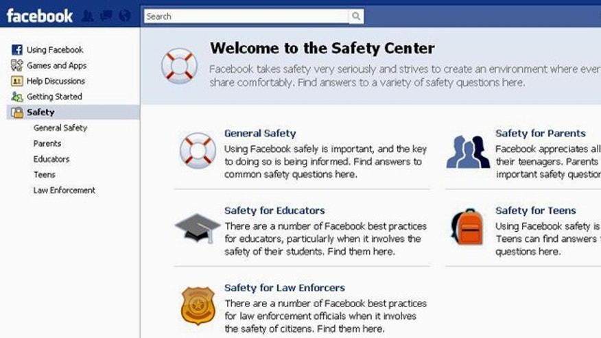 Some new features of the safety center include four times more content on staying safe, such as dealing with bullying online, an interactive portal and a simpler design.