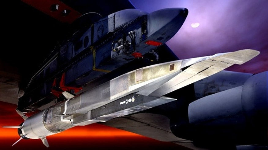 The X-51A WaveRider Hypersonic Test Vehicle.
