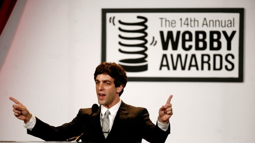 Host B.J. Novak of NBC's The Office welcomes winners to the 14th Annual Webby Awards.