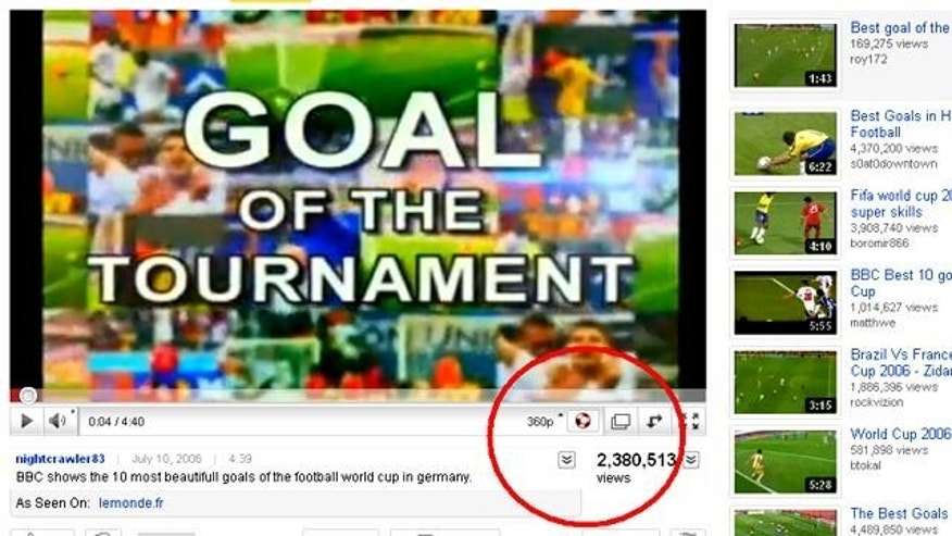 By adding a soccer-ball shaped button for the vuzuzela sound -- the noisemaker that's driving people nuts at World Cup matches -- YouTube has sparked an online revolt.