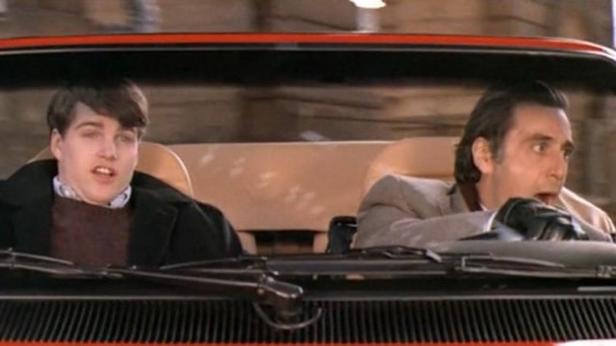 In the movie Scent ofa Woman, a frightened Chris O'Donnell rode shotgun as Al Pacino, playing a blind retired lieutenant-colonel, took a Ferrarri out for a spin.