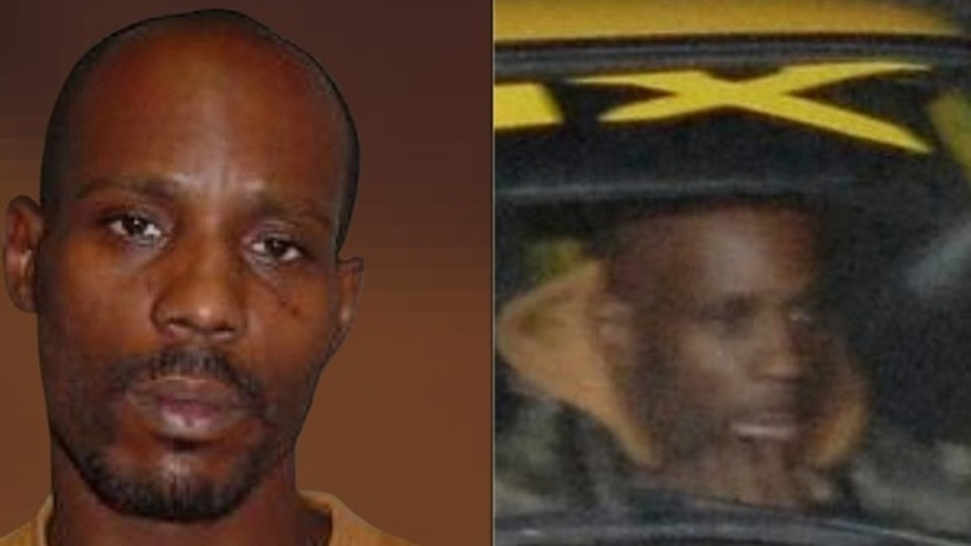 A booking photo provided in 2008 by the Arizona Department of Public Safety shows rapper DMX, who was arrested after speed-enforcement cameras captured him in his bright yellow 1966 Chevrolet going 114 mph on a suburban Phoenix freeway.