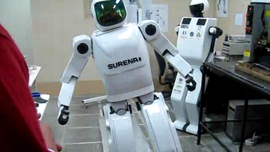 Researchers at Tehran University, in Iran, unveiled last month an adult-sized humanoid robot called Surena 2.