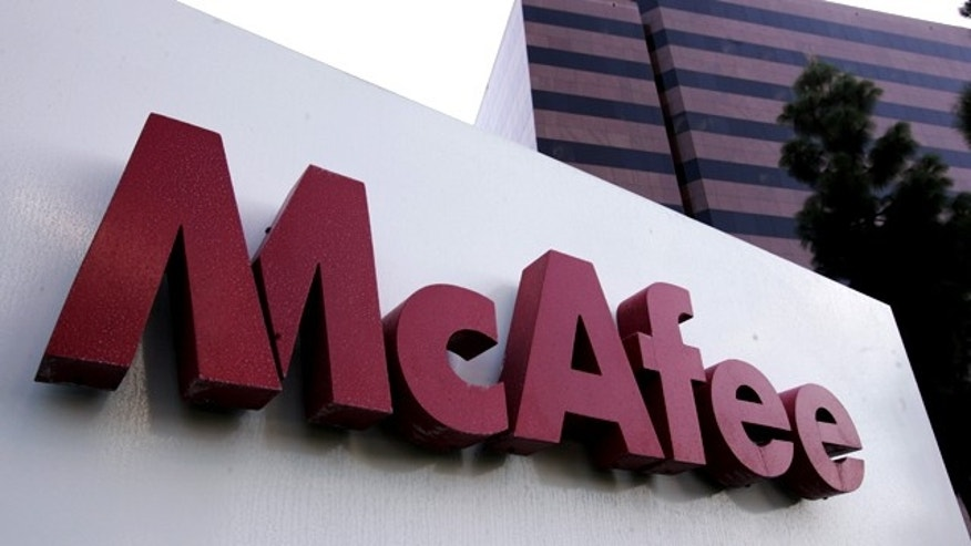 Calif. Chip maker Intel said Thursday, Aug. 19, 2010, it has agreed to buy computer-security software maker McAfee Inc. for $7.68 billion, or $48 per share.