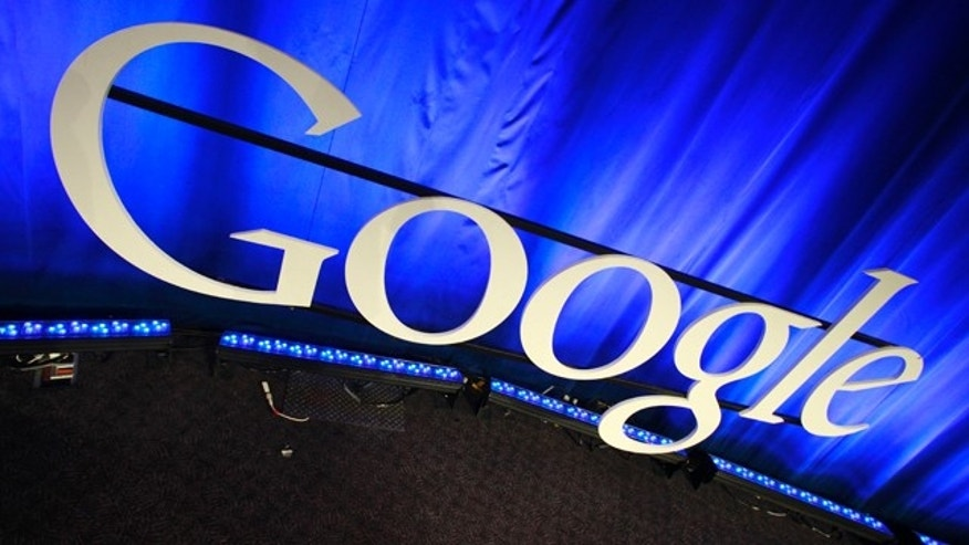 A Google sign at the company's headquarters in Mountain View, Calif.