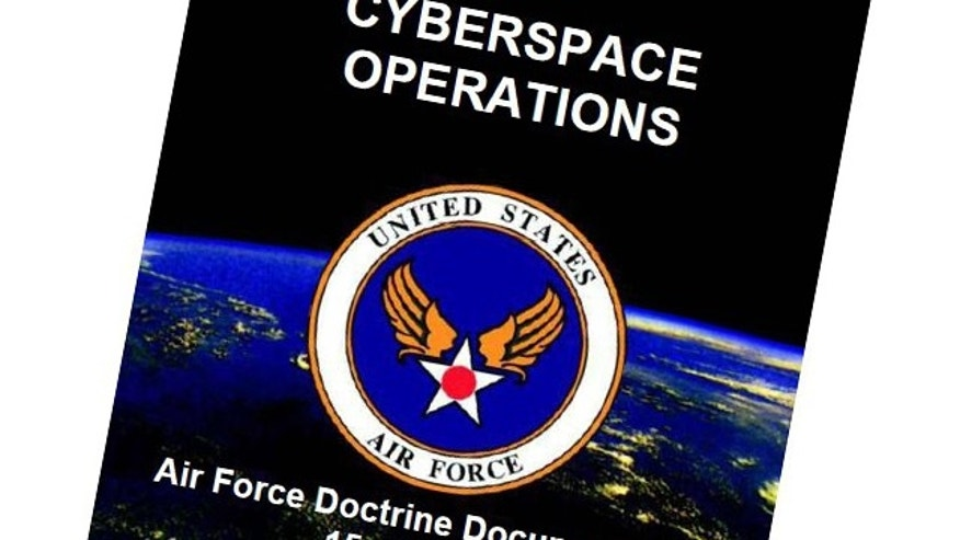 "AFDD 3-12 documents Air Force operations in cyberspace, defining terms and setting a means of maintaining ""Cyberspace Superiority."""