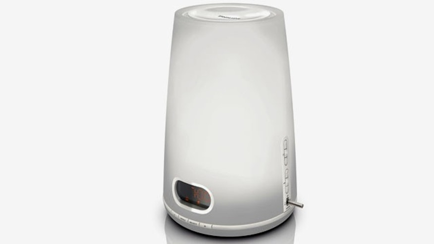 The Philips Wake up Light HF3470 may help people deal with Seasonal Affect Disorder.