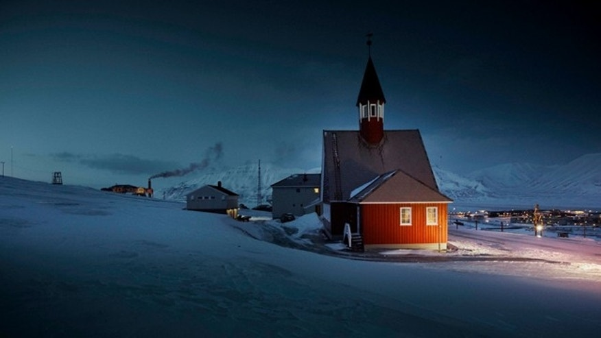 Longyearbyen, Norway, is the northernmost town on the planet, and consequently experiences four months of darkness each winter.
