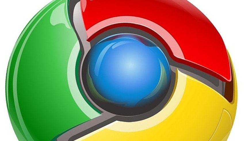 The logo for Google's Chrome browser, the company's competition for Internet Explorer and Firefox.