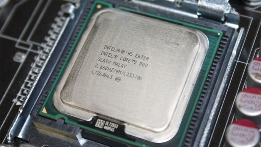 New technology developed by Intel means we could see 500x the amount of cores found on this dual-core Core 2 Duo processor.