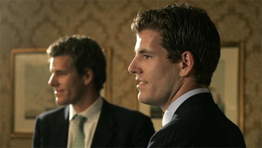 Cameron and Tyler Winklevoss, who were famously portrayed by Armie Hammer and Josh Pence in The Social Network, a Hollywood blockbuster that dramatized the events surrounding the founding of the 500-million-strong social network.