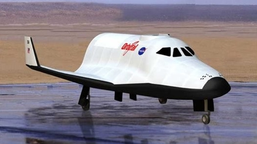 Orbital Sciences' New Spaceplane Concept