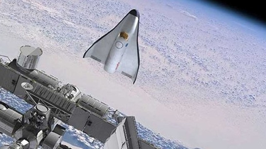 Orbital's Spaceplane Design Would Dock with the ISS Through a Hatch in the Rear