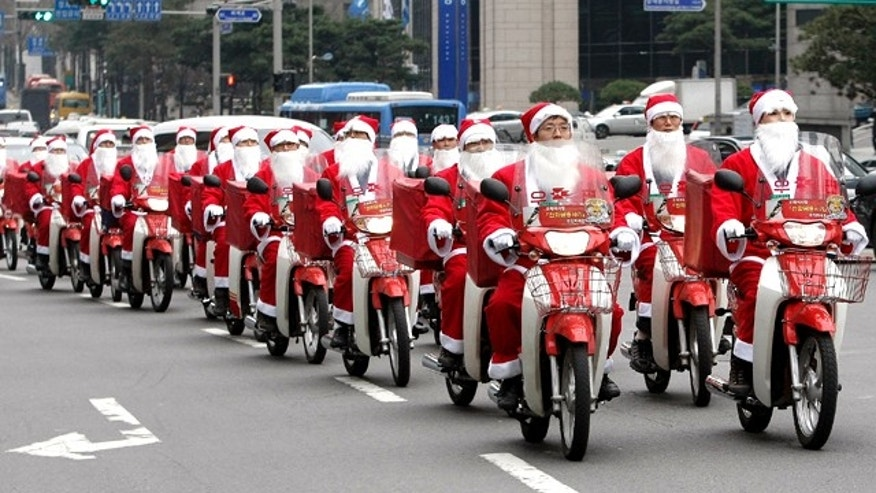 Have you finished trimming your tree? Or stuffing the stockings? Here are a few gifts Santa can carry to your family -- whether by sleigh or scooter.