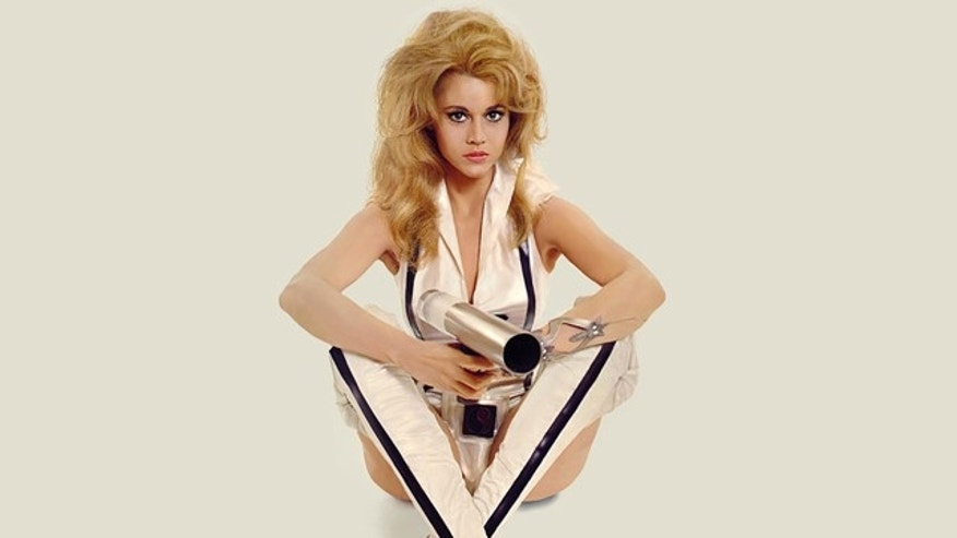 Who can save the universe? Sexy space vixen Barbarella, that's who.