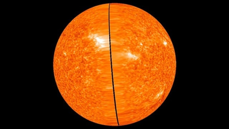 NASA has released the first ever image that reveals the entire sun in a 360-degree view. This view shows the latest image of the far side of the Sun, taken on Feb. 2, 2011 at 23:56 UT.