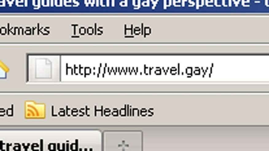 The controversial .gay domain