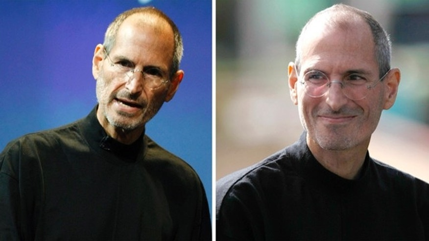 Apple CEO Steve Jobs, seen in July 2010 (left) and Oct. 2010. Apple announced Monday Jan. 17, 2011, that Jobs is taking a medical leave of absence for the second time in two years.