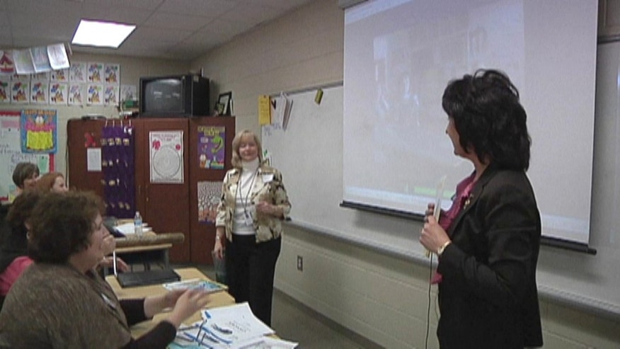 Teachers in South Carolina attend sessions to learn how to integrate Skype video conferencing into music class.