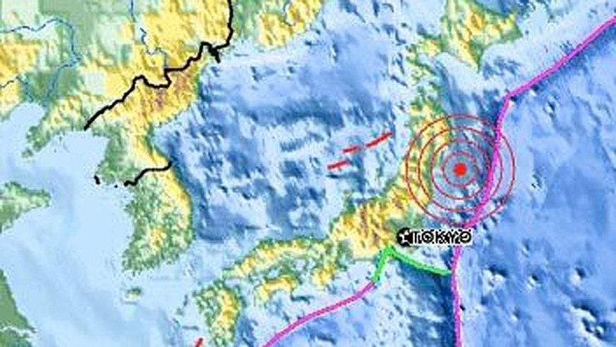 The epicenter of the March 11 earthquake occurred near the east coast of Honshu, Japan.