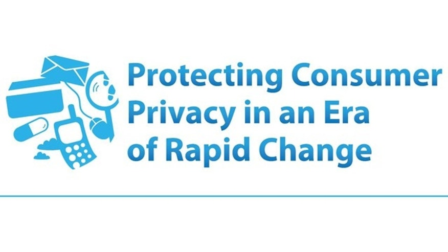 "The cover of an FTC report on online privacy that calls for the creation of a ""do not track"" button for the Internet."